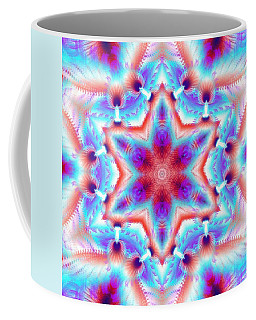 Cosmic Spiral Kaleidoscope 45 Coffee Mug