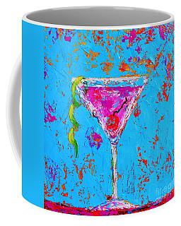Cosmopolitan Martini Cherry Flavored - Modern Art Coffee Mug