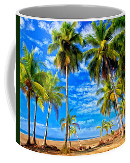 Coffee Mug featuring the painting Costa Rican Paradise by Michael Pickett