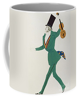 Costume Design For Paganini In The Enchanted Night Coffee Mug
