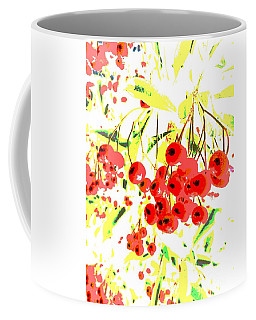 Coffee Mug featuring the photograph Cotoneaster by Barbara Moignard