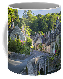 Coffee Mug featuring the photograph Cotswold Village by Brian Jannsen
