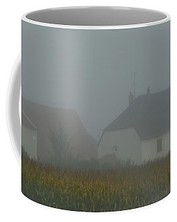 Cottage In Mist Coffee Mug