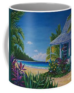 Cottage On The Beach  17x23 Coffee Mug