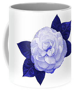 Coffee Mug featuring the photograph Cottage Rose by Jane McIlroy