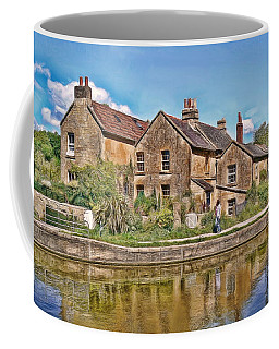 Cottages At Avoncliff Coffee Mug