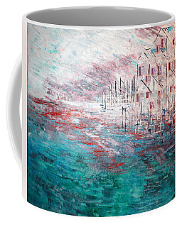 Cottages On The Bay  Coffee Mug