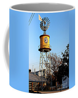 Cotton Belt Route Water Tower In Grapevine Coffee Mug