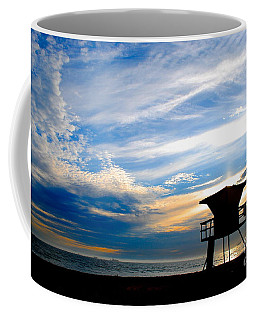 Coffee Mug featuring the photograph Cotton Candy Sky by Margie Amberge