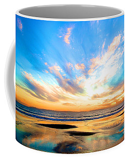 Cotton Candy Sunset Coffee Mug by Margie Amberge