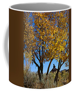 Cottonwood And Nipple Butte-v Coffee Mug