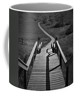 Coulee Stairs Coffee Mug by Donald S Hall