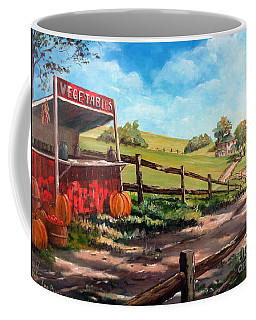 Country Life Coffee Mug by Lee Piper