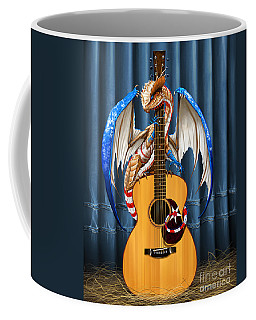 Country Music Dragon Coffee Mug