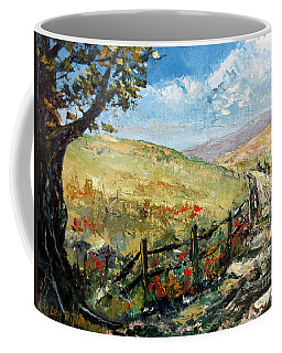 Country Road Coffee Mug by Lee Piper