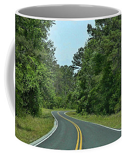 Coffee Mug featuring the photograph Country Road by Victor Montgomery