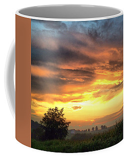Country Scene From Hilltop To Hilltop Coffee Mug