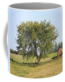 Coffee Mug featuring the photograph Country Scene by Penny Meyers