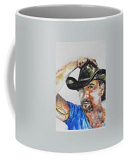 Country Singer Tim Mcgraw 02 Coffee Mug