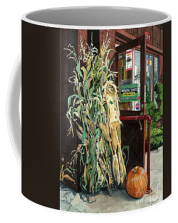 Coffee Mug featuring the painting Country Store by Barbara Jewell