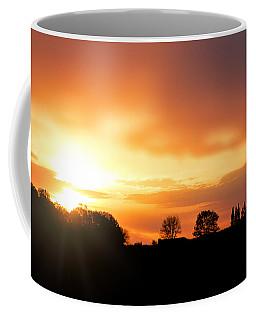 Country Sunset Silhouette Coffee Mug