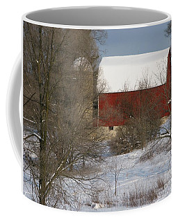 Country Winter Coffee Mug by Ann Horn