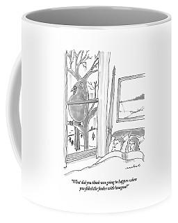 Couple In Bed Coffee Mug