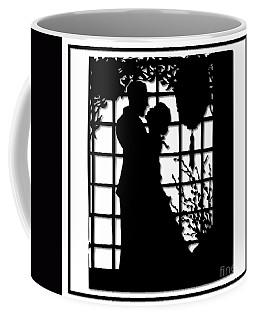 Couple In Love Silhouette Coffee Mug