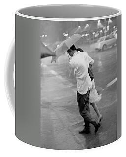 Couple In The Rain Coffee Mug