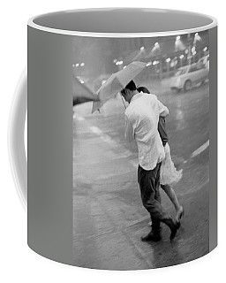 Couple In The Rain Coffee Mug