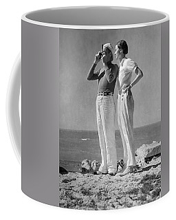 Couple On The Maine Shore Coffee Mug