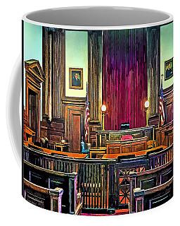 Courtroom Coffee Mug