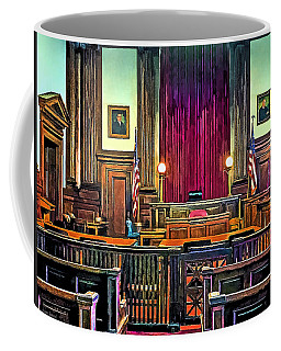 Courtroom Coffee Mug