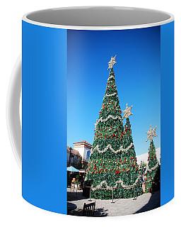 Courtyard Christmas Coffee Mug