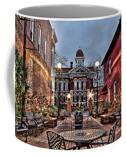 Courtyard Courthouse Coffee Mug