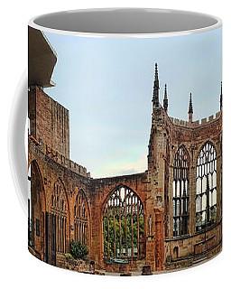 Coventry Cathedral Ruins Panorama Coffee Mug