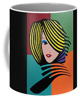 Cover Girl Coffee Mug