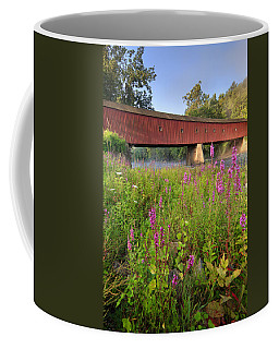 Covered Bridge West Cornwall Coffee Mug