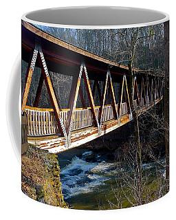 Covered Bridge In Roswell Coffee Mug