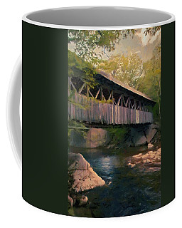 Covered Bridge Coffee Mug by Jeff Kolker