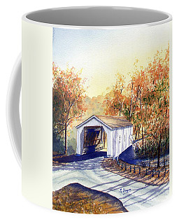 Covered Bridge On The Lochatong Coffee Mug