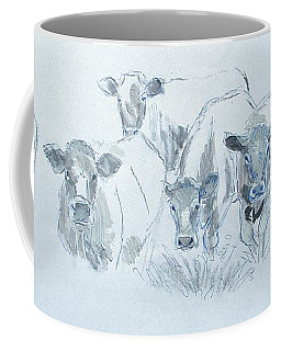 Cow Drawing Coffee Mug
