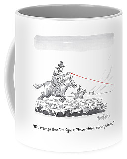 Cat Herders Use A Laser Pointer Coffee Mug