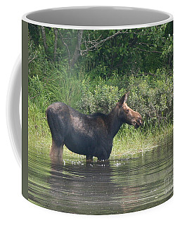 Cow Moose Breakfast Coffee Mug