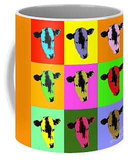Cow Pop Art Coffee Mug