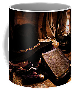 Cowboy Bible Coffee Mug