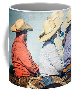 Coffee Mug featuring the photograph Cowboy Colors by Steven Bateson