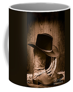 Cowboy Hat And Boots Coffee Mug