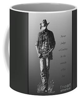 Cowboy Hat Verse Coffee Mug