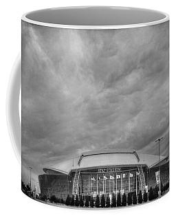 Cowboy Stadium Bw Coffee Mug